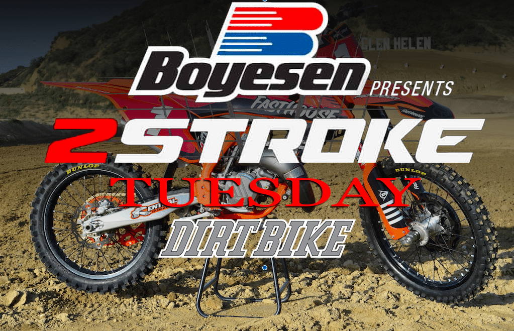 TWO-STROKE TUESDAY: FASTHOUSE KTM 125 PROJECT