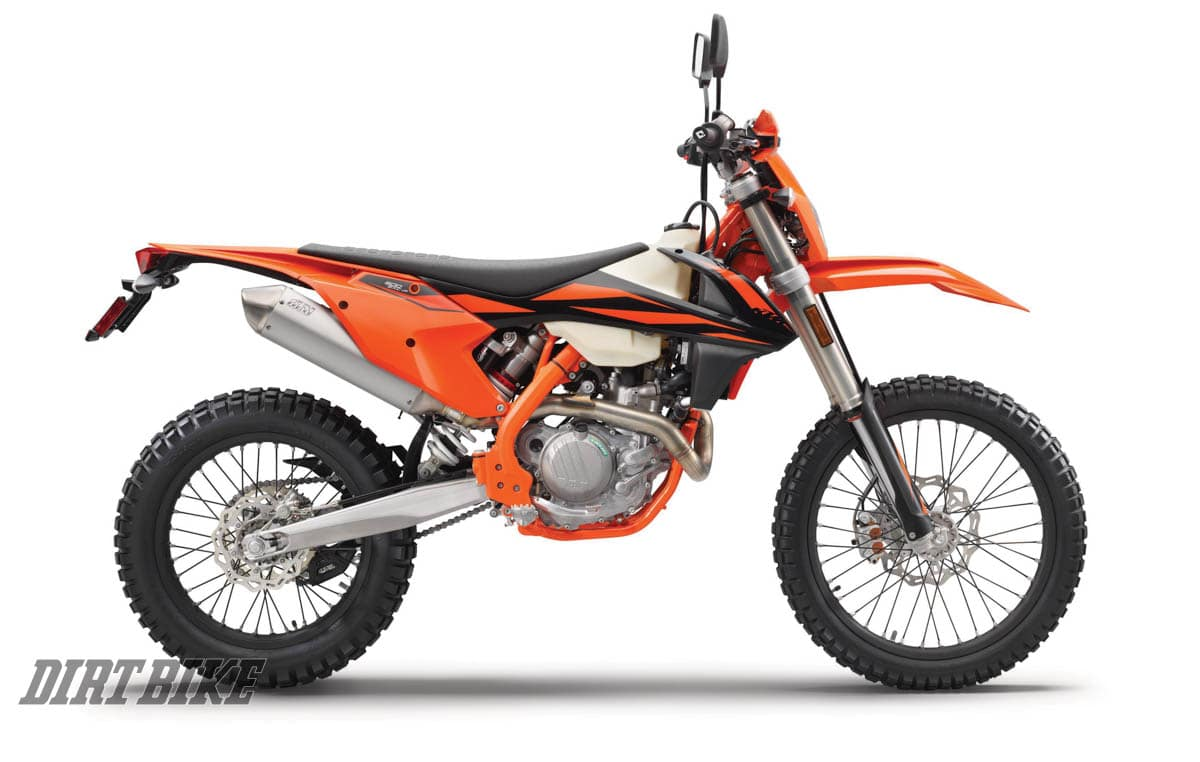Ktm Exc Where Is Displacement