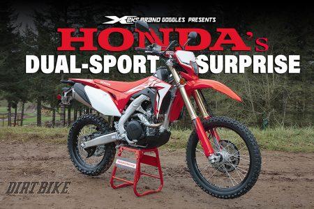 2019 Honda Crf450l A Hard Core Dual Sport From Japan Dirt Bike