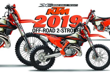 2019 ktm off-road 2-strokes