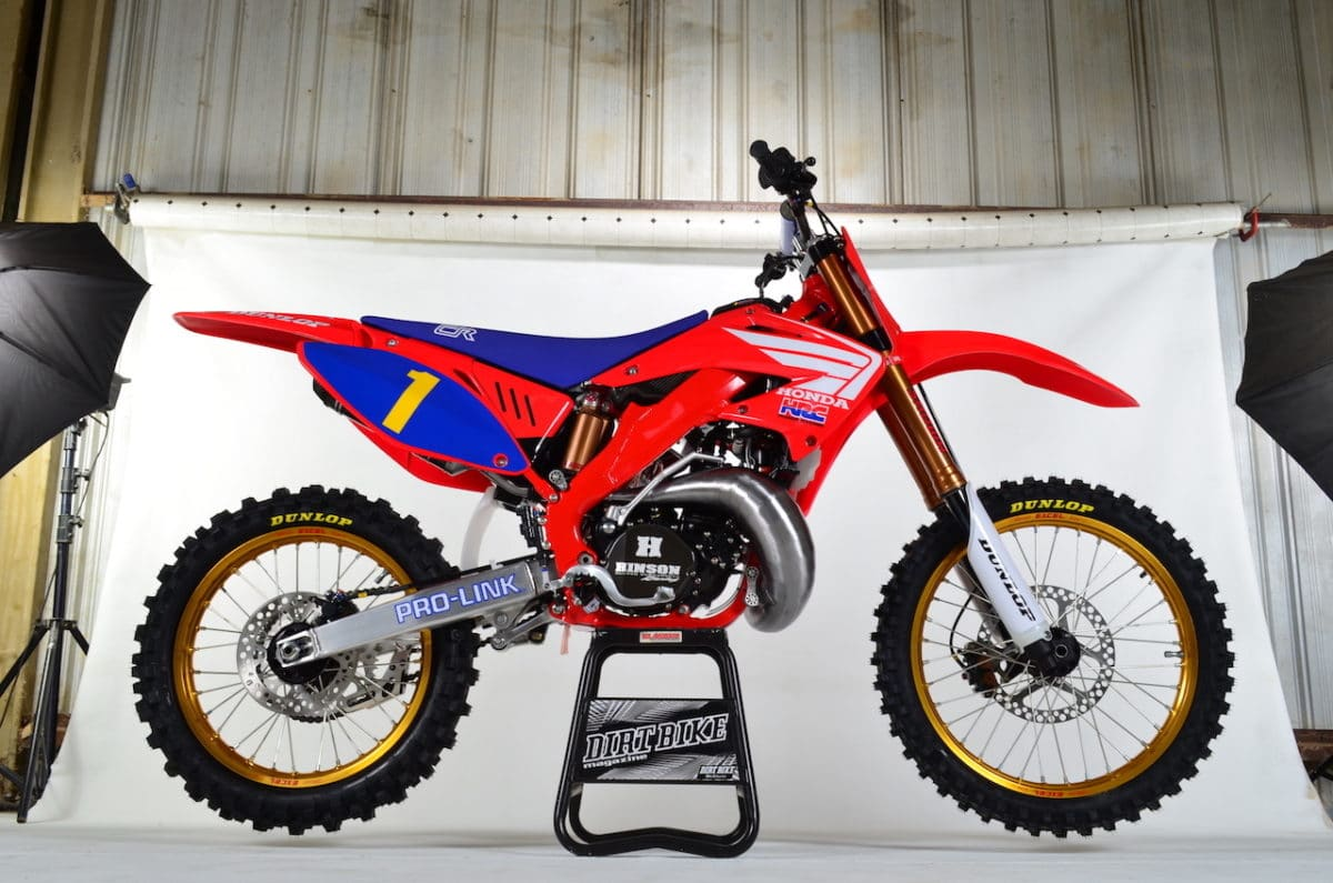 Two Stroke Tuesday Custom Cr250r Built By Motowhips Dirt Bike