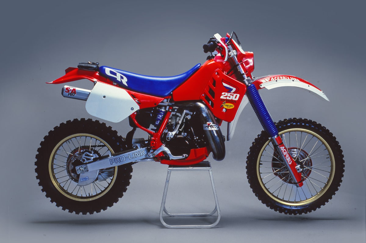 1987 honda cr250 enduro project two stroke tuesday. Black Bedroom Furniture Sets. Home Design Ideas