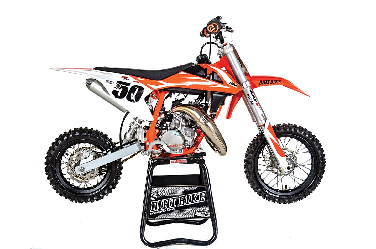 KTM 50SX: FULL TEST | Dirt Bike Magazine