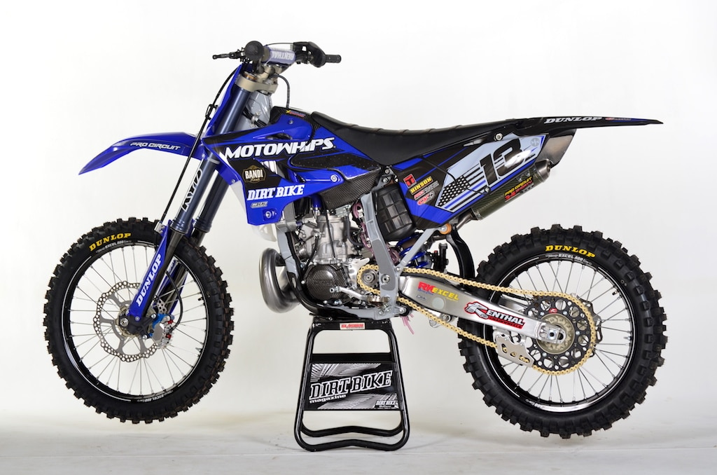 This Build Was Inspired By The Men And Women Of Law Enforcement All They Do To Keep Us Safe Every Day Prodigy Yamaha Yz250 Built Justin At
