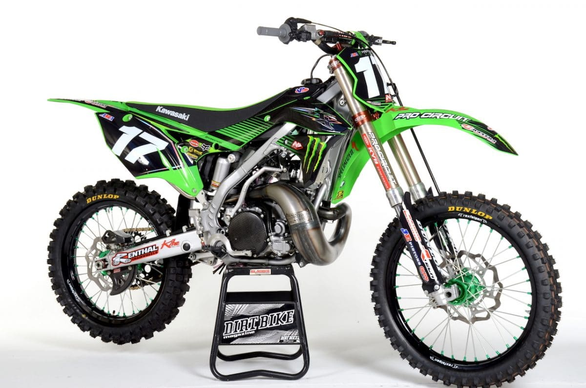 2018 pro circuit kx250 built by jon primo two stroke. Black Bedroom Furniture Sets. Home Design Ideas