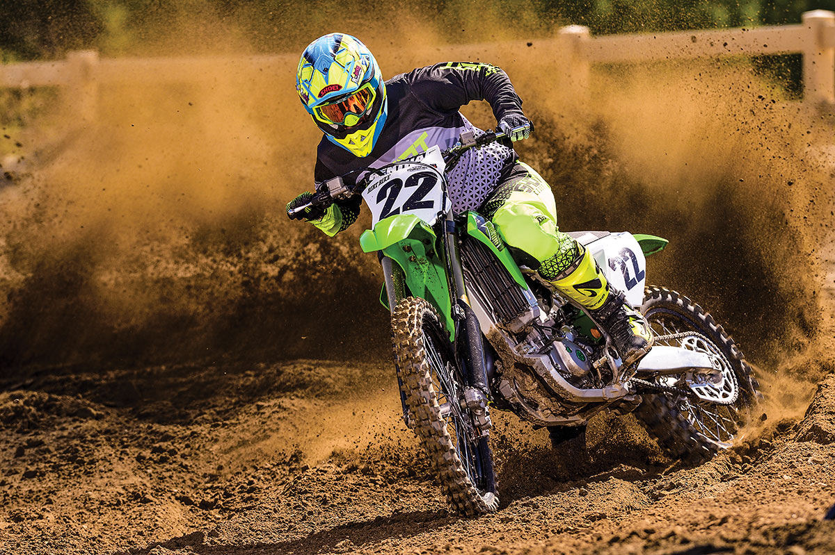2019 Kawasaki Kx450 Full Test Dirt Bike Magazine Kx450f Fuel Filter The Is Completely New We Dont Mean Usual Year To Definition Of Where Most Bits And Pieces An Existing Model