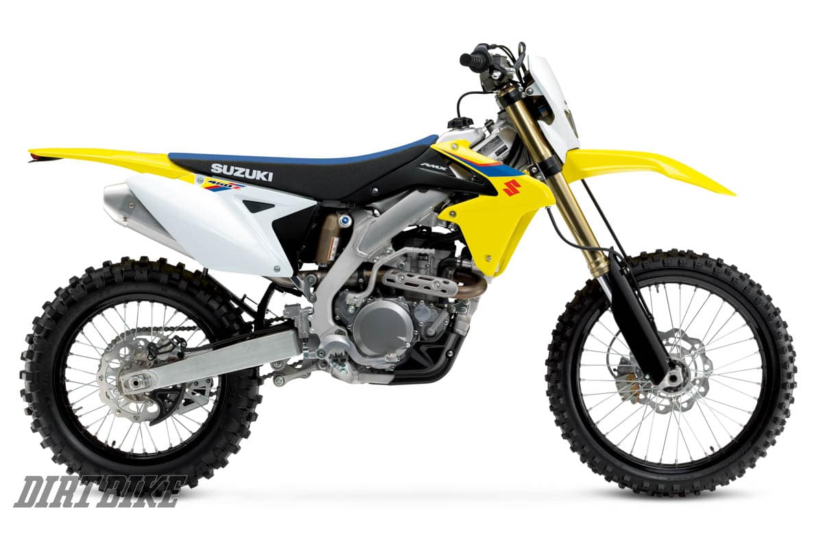 Suzuki Releases 2019 Models Dirt Bike Magazine Coil Wiring Diagram 250 Motorcycle Rmx450z Enduro Ready Off Road Based On The Rm Z450 Electric Starting With Kick Start Back Up