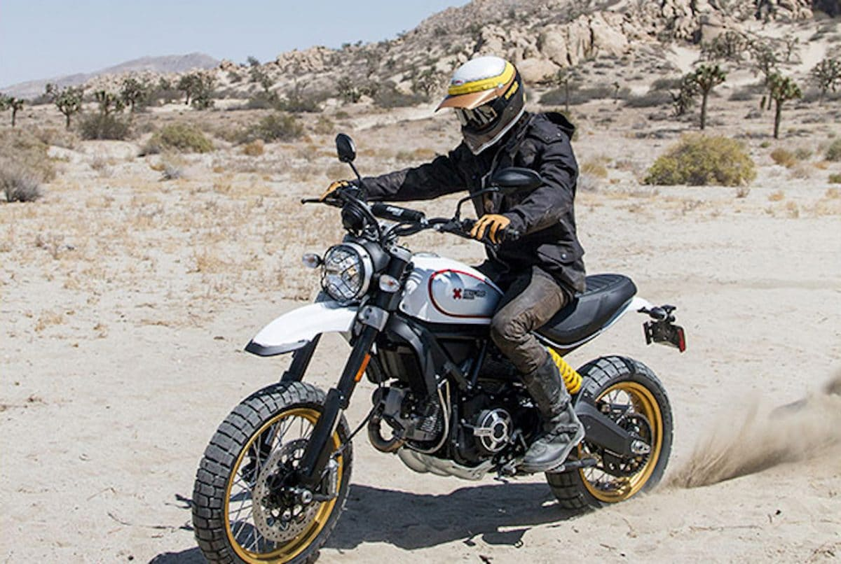 adventure bike spotlight ducati scrambler desert sled. Black Bedroom Furniture Sets. Home Design Ideas