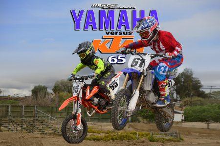 YAMAHA YZ65 VS KTM 65SX: ONE ON ONE   Dirt Bike Magazine