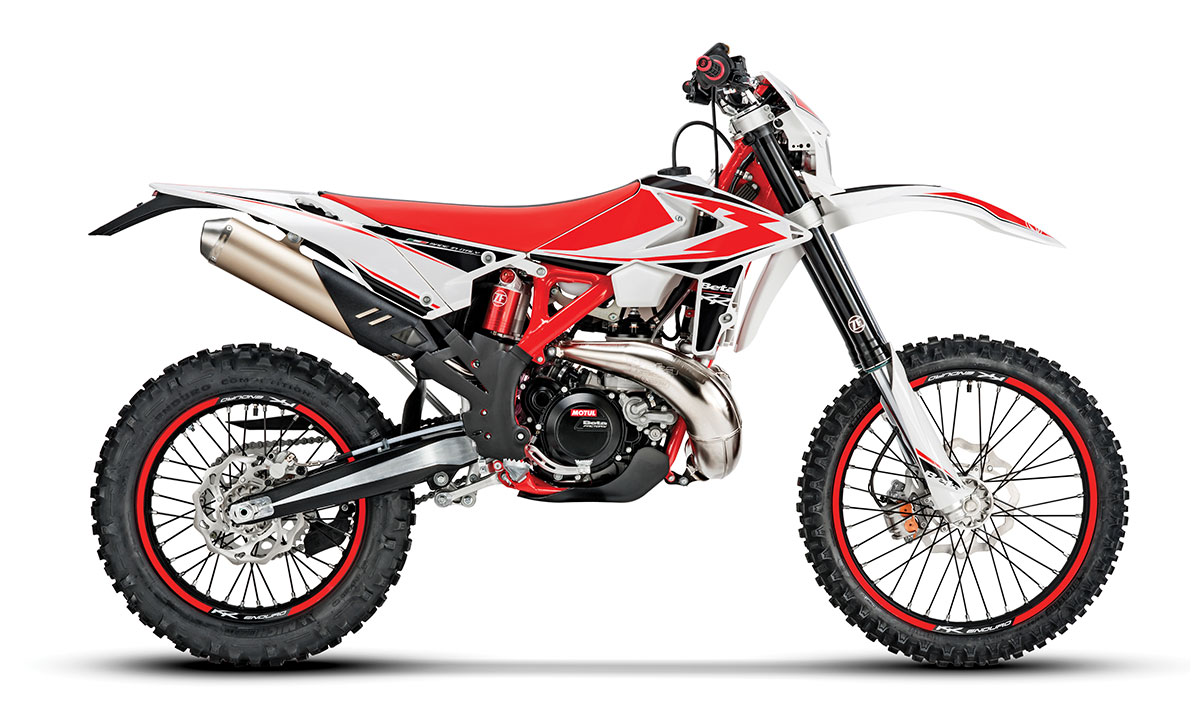 Beta Continues To Invest In Its Two Strokes The 300RR Is An Electric Start Power Valve Off Road Bike That Comes With FMF Exhaust System And Oil