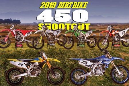2019 450 MX SHOOTOUT | Dirt Bike Magazine