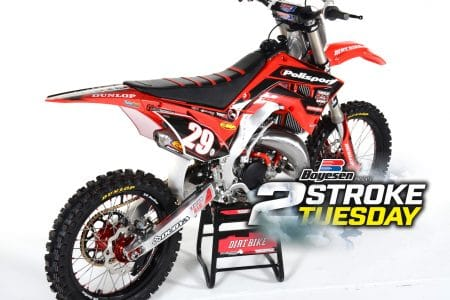 facc6493 POLISPORT 2003 HONDA CR125 RESTYLE PROJECT: TWO-STROKE TUESDAY ...