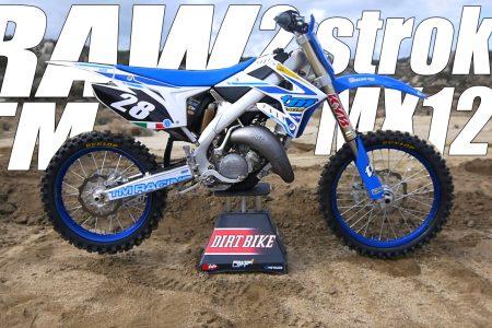 Tm Dirt Bikes >> 2018 Tm Racing Mx 125 2 Stroke Raw Video Dirt Bike Magazine