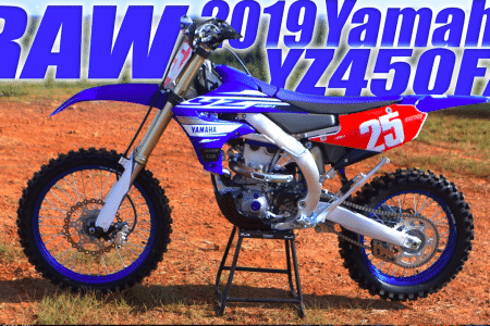 2019 Yamaha Yz450fx Raw Video Dirt Bike Magazine