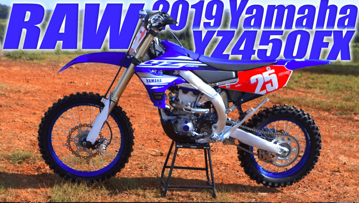 2019 yamaha yz450fx raw video dirt bike magazine. Black Bedroom Furniture Sets. Home Design Ideas