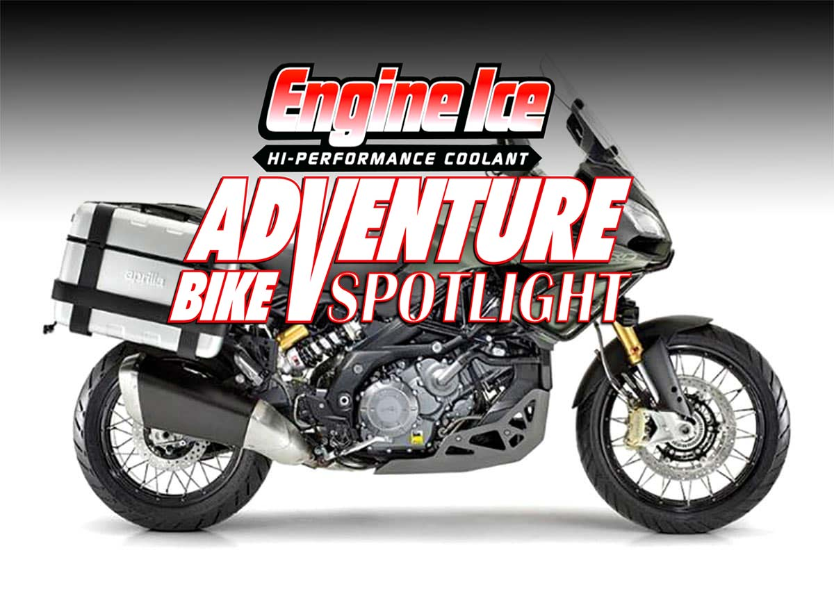 aprilia caponord 1200 rally adventure bike spotlight. Black Bedroom Furniture Sets. Home Design Ideas