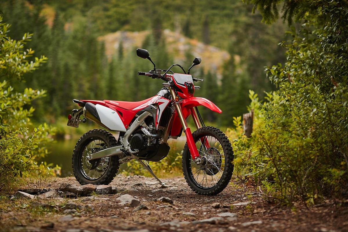 2019 Honda Crf450l Dual Sport First Ride Dirt Bike Magazine