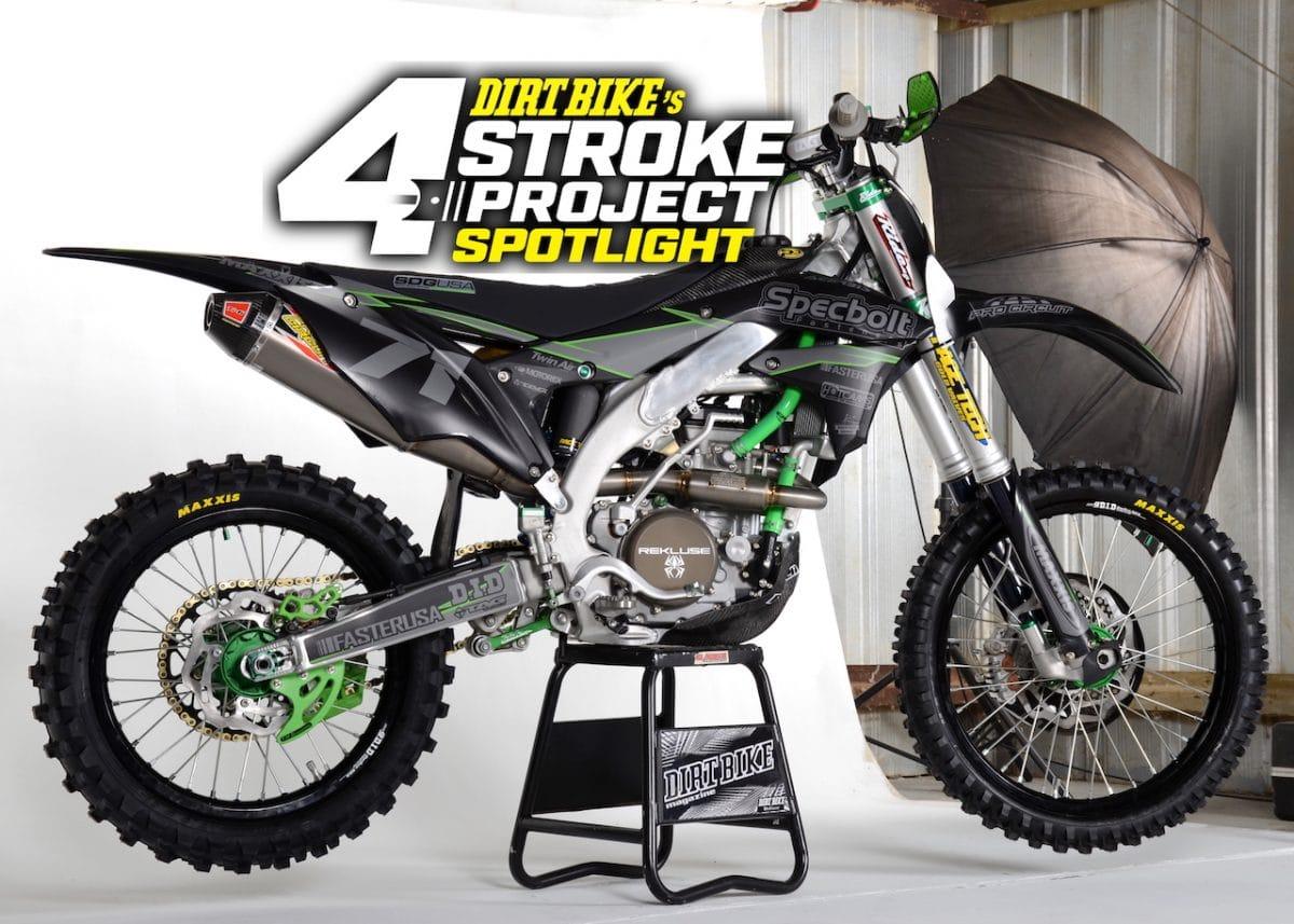 Specbolt Kawasaki Kx450 Build Project