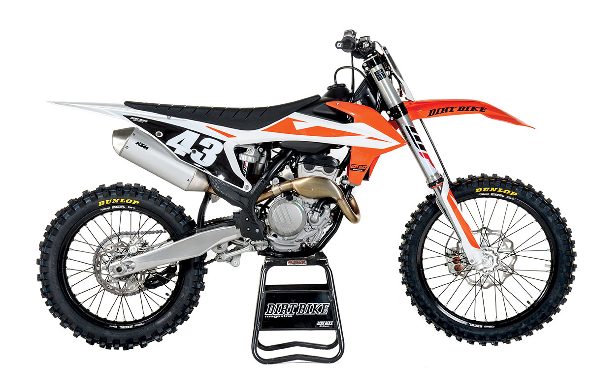 As winner of the 2018 Dirt Bike 250 MX shootout, the KTM 250SX-F could have  come back without changes. But, KTM engineers want it to be a moving  target, ...