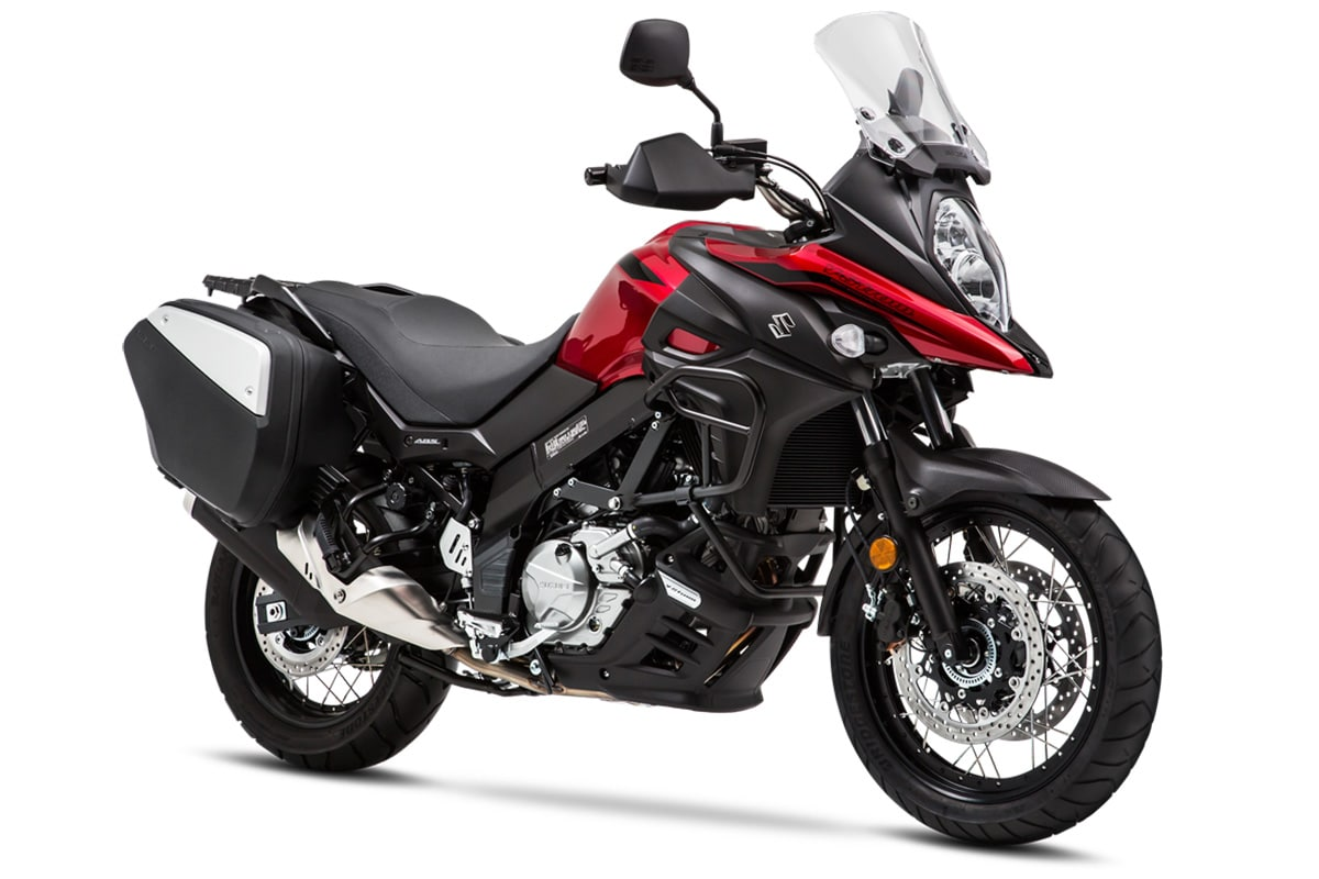 suzuki 39 s 2019 v strom 1000 650 adventure bike spotlight. Black Bedroom Furniture Sets. Home Design Ideas