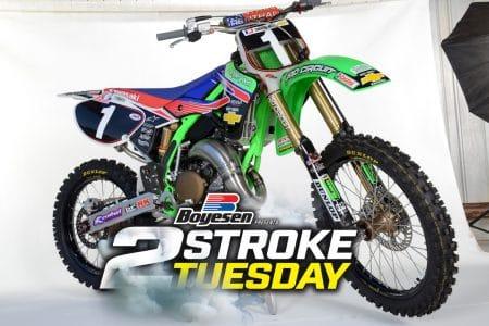 Blake Bilko Williams 2001 Pro Circuit Kawasaki Kx125 Replica Build Two Stroke Tuesday