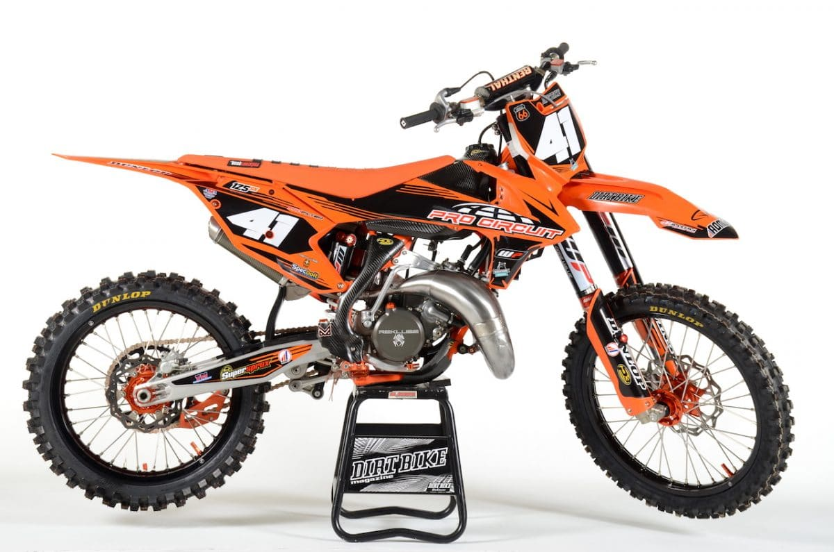 2018 pro circuit ktm 125 project two stroke tuesday. Black Bedroom Furniture Sets. Home Design Ideas