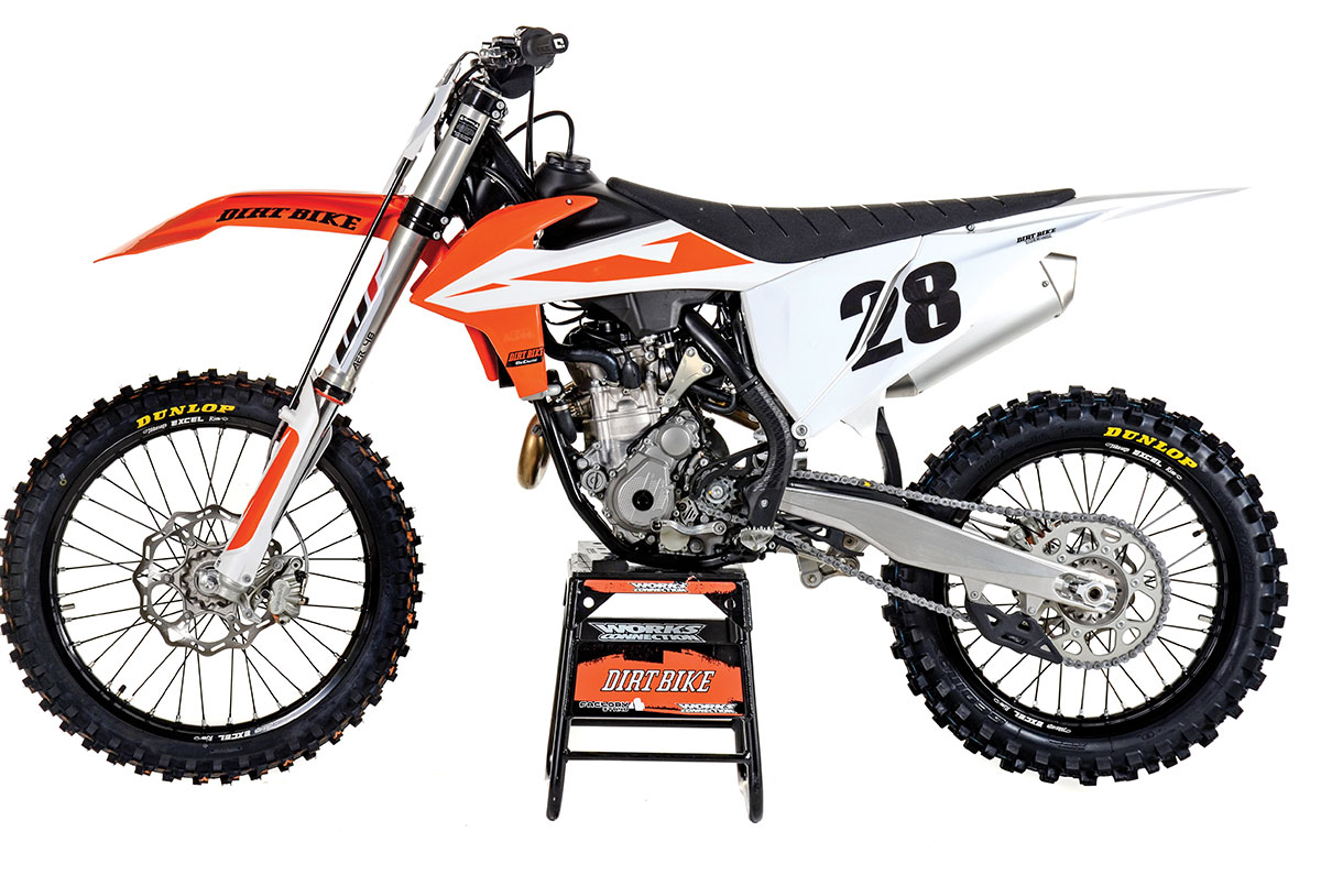 KTM 350SX-F VS  HUSQVARNA FC350: FULL TEST | Dirt Bike Magazine