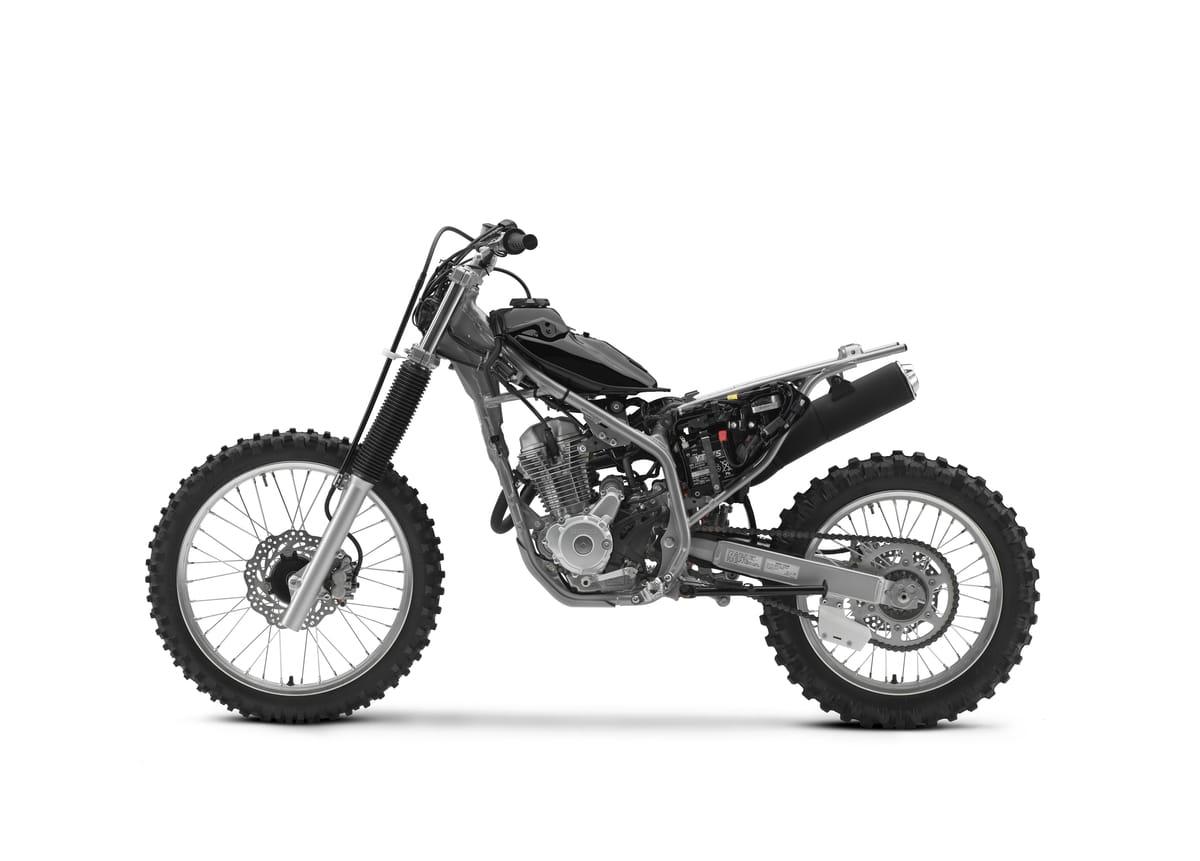 Honda S New Crf250f Amp Milan Show The Wrap Dirt Bike