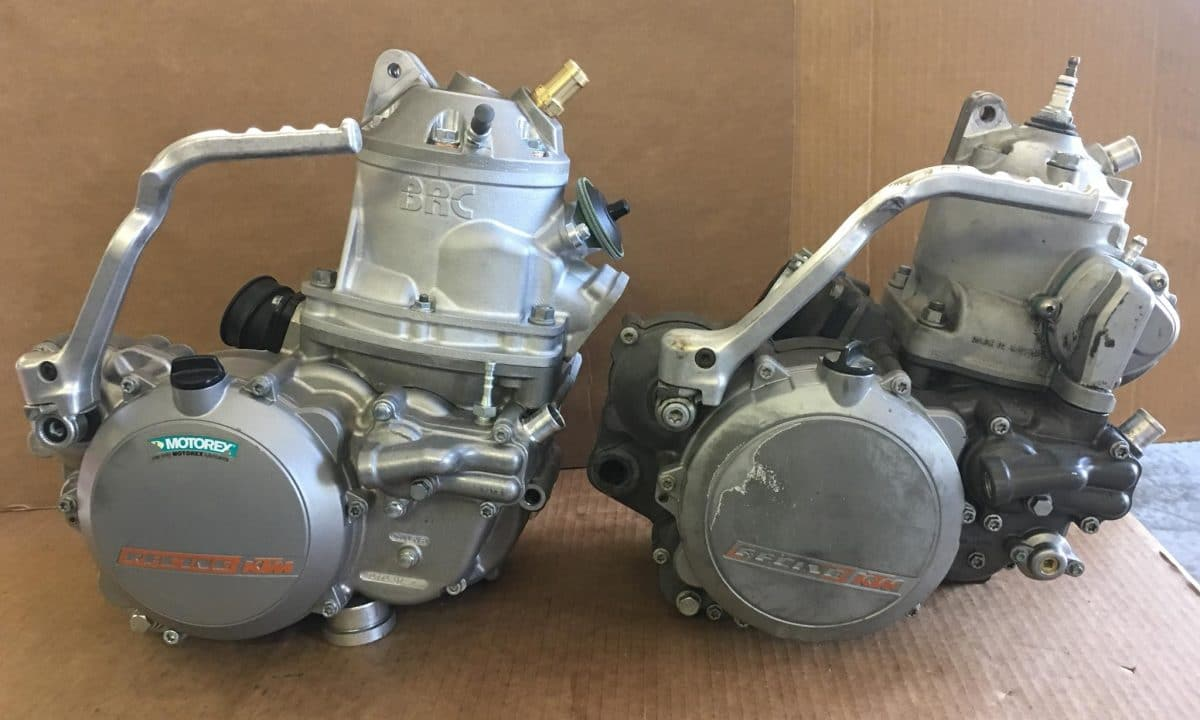 BRC KTM 500cc 2-STROKE CONVERSION: TWO-STROKE TUESDAY | Dirt