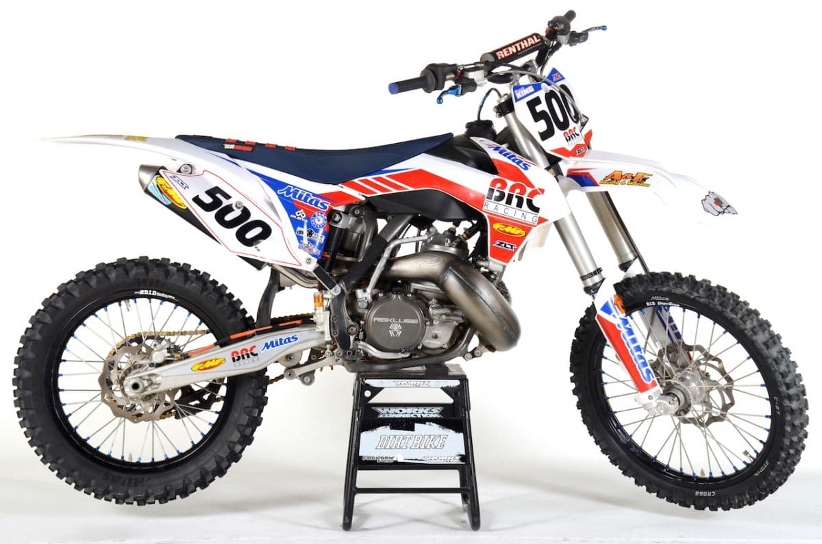 BRC KTM 500cc 2-STROKE CONVERSION: TWO-STROKE TUESDAY | Dirt Bike