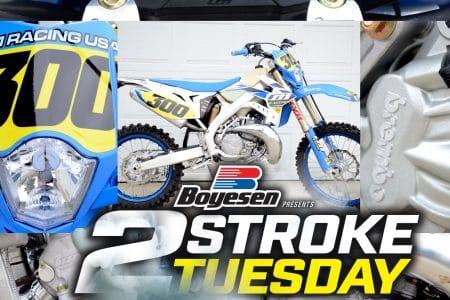 2019 TM 300EN 2-STROKE FIRST LOOK: TWO-STROKE TUESDAY   Dirt