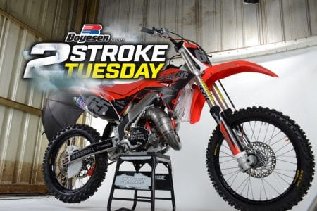 La Sleeve 2001 Honda Cr125 Project Two Stroke Tuesday Dirt Bike