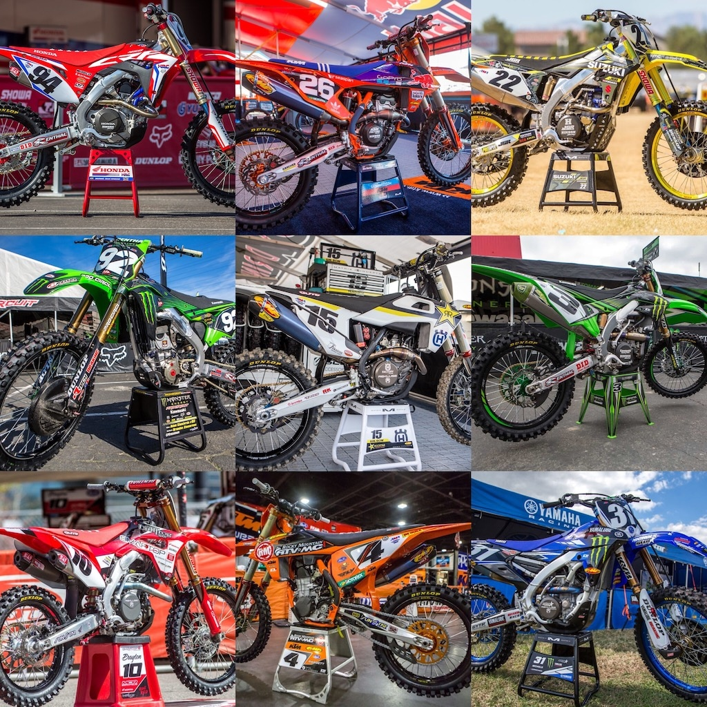 FACTORY MACHINES OF MONSTER ENERGY SUPERCROSS: LOOKING