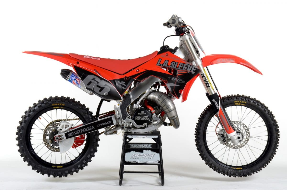 Cr 125 hp rating