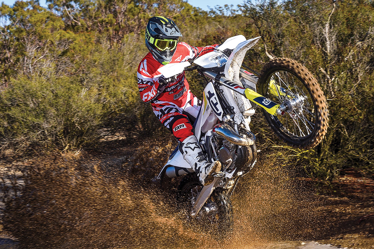 HUSQVARNA TE150 2-STROKE: FULL TEST | Dirt Bike Magazine