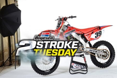 2006 SLR HONDA CR250 2-STROKE PROJECT: TWO-STROKE TUESDAY