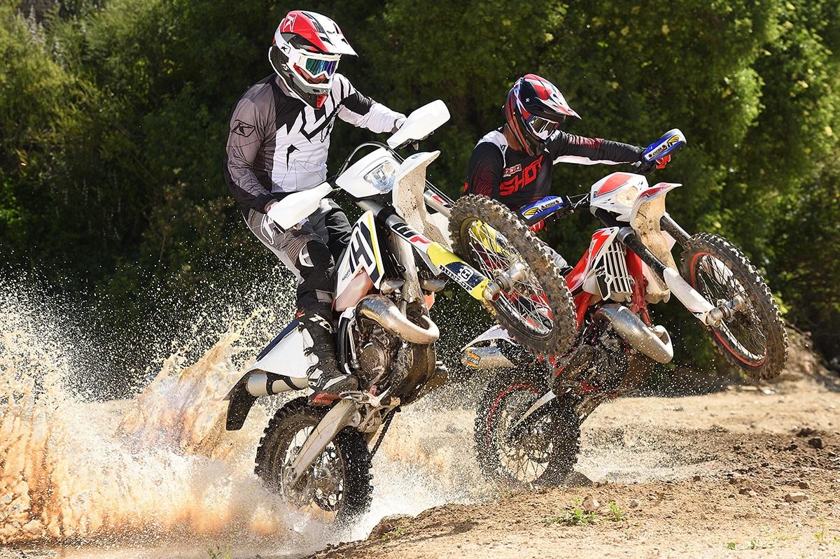 HUSKY VS  BETA 2-STROKES: THE WRAP | Dirt Bike Magazine
