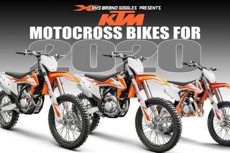 509643d783989 2020 KTM MOTOCROSS MODELS  FIRST LOOK