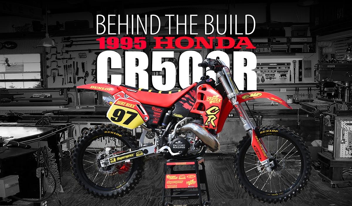 1995 HONDA CR500 2-STROKE--A PREMIX VIDEO | Dirt Bike Magazine