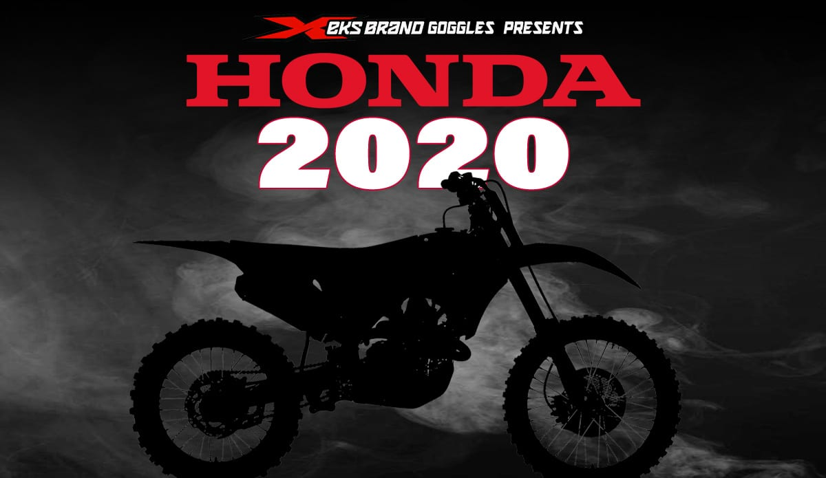New Honda Motorcycles >> HONDA TO ANNOUNCE 2020 MODELS | Dirt Bike Magazine