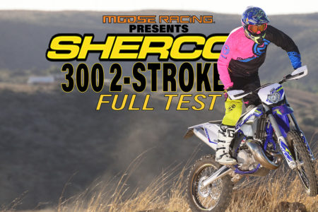 Sherco is building 2-strokes for the best riders in Europe