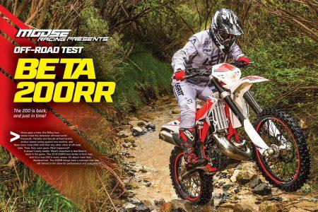 BETA 200RR 2-STROKE, FULL TEST | Dirt Bike Magazine