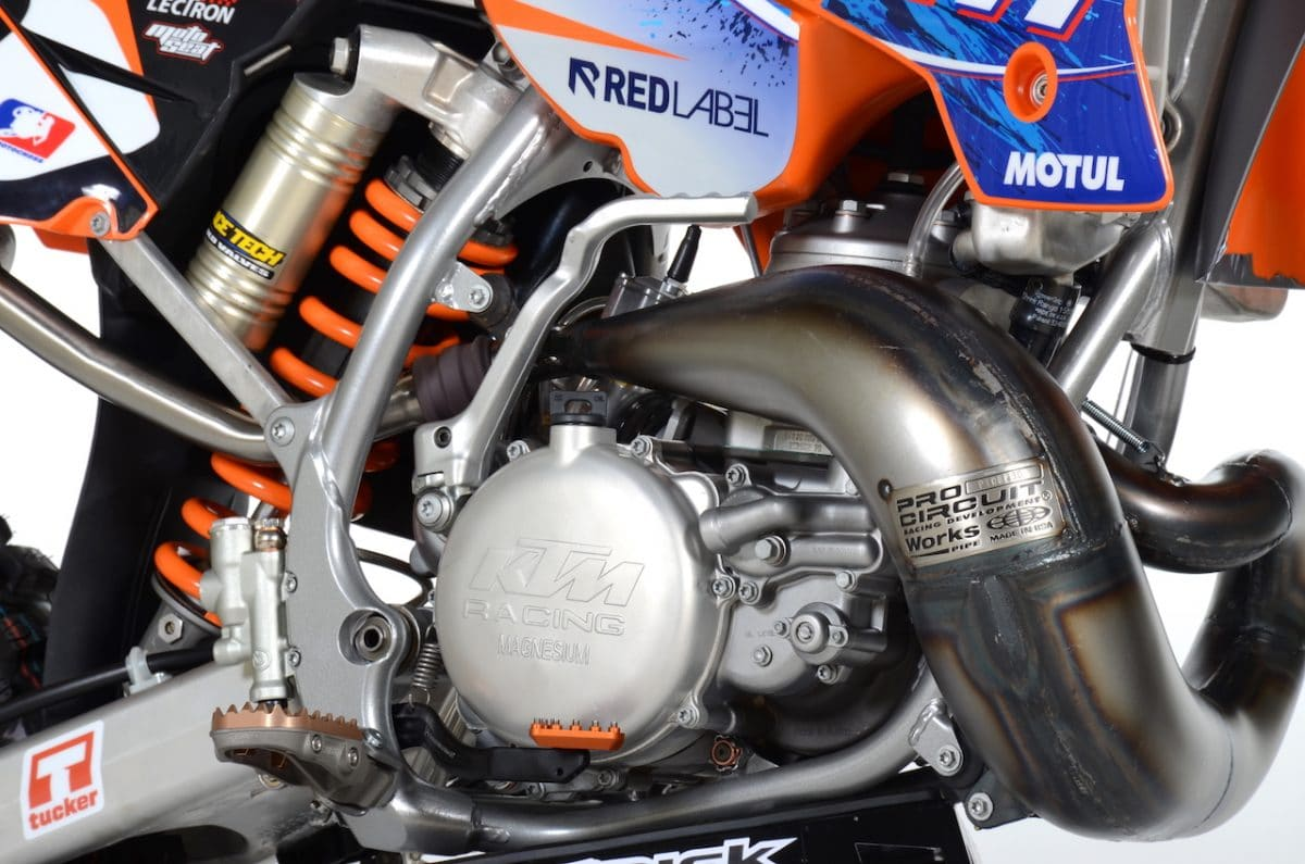 JEREMY MCGRATH BUD LIGHT KTM TRIBUTE PROJECT: TWO-STROKE