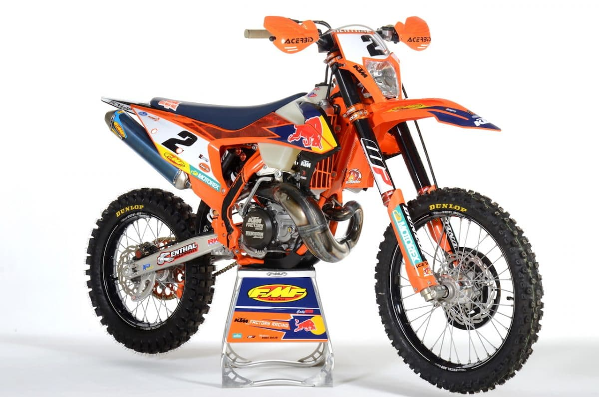 Cody Webb S 2020 Factory Ktm 300 Tpi Race Bike Two Stroke Tuesday Dirt Bike Magazine