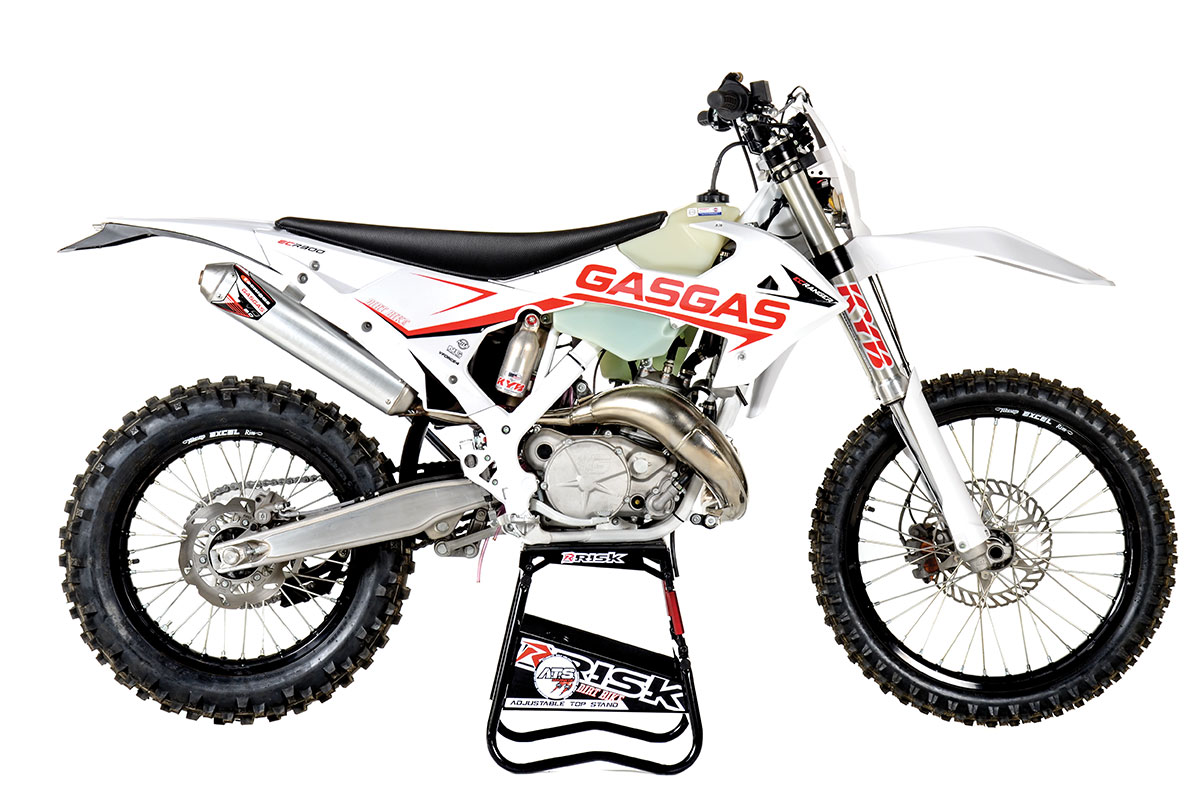 The GasGas ECRanger is a different kind of 300cc off-road bike aimed at the two-stroke purist.
