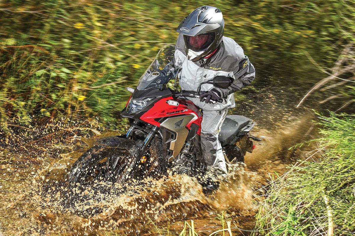 Honda Cb500x Adventure Bike Spotlight Dirt Bike Magazine