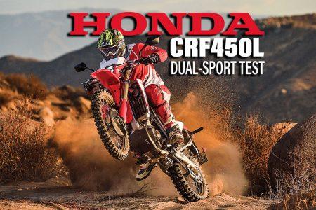 LIVING WITH THE 2019 HONDA CRF450L | Dirt Bike Magazine