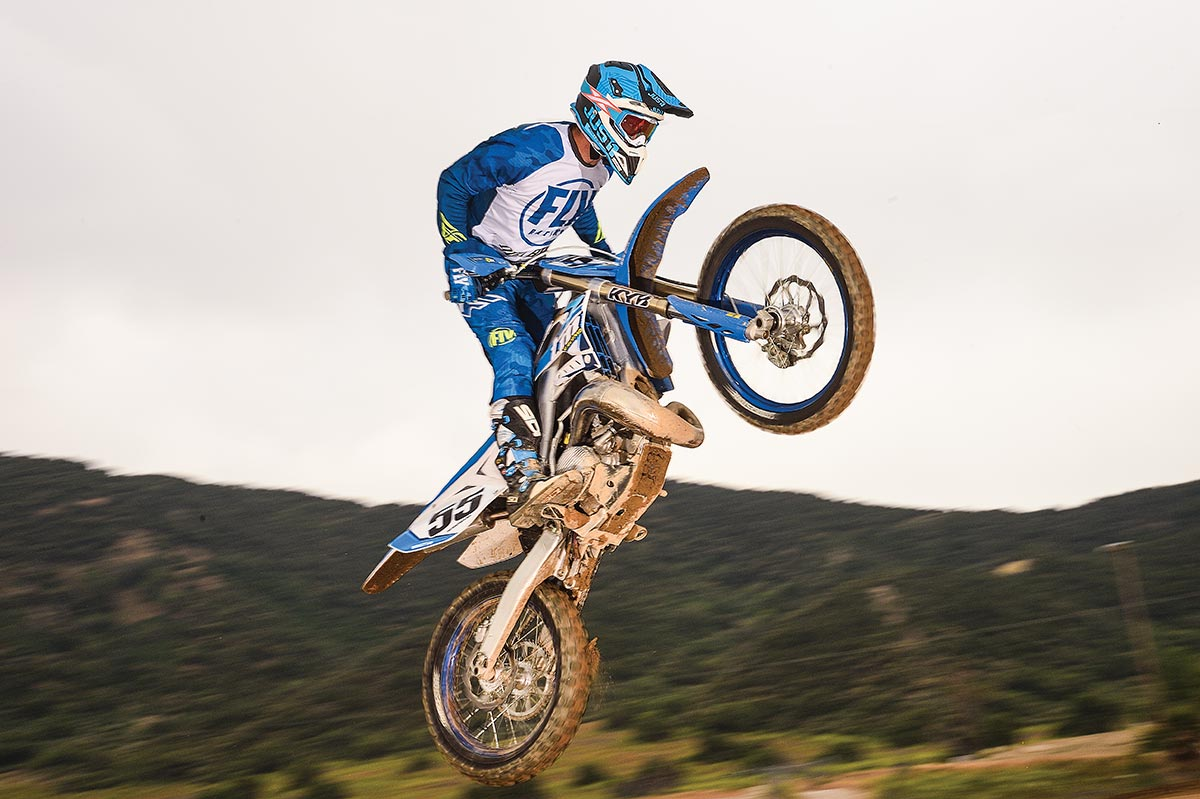 TM has the most technologically sophisticated 250 MX bike in the two-stroke world.