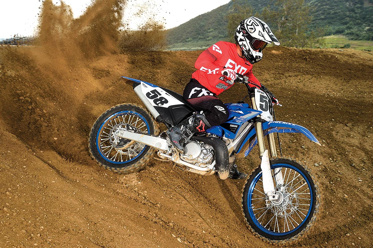 There's no bike that's more of a known commodity than the Yamaha YZ250 two-stroke.