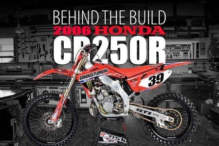 Build A Honda >> Ricky Dietrich S Honda Cr250r 2 Stroke Behind The Build